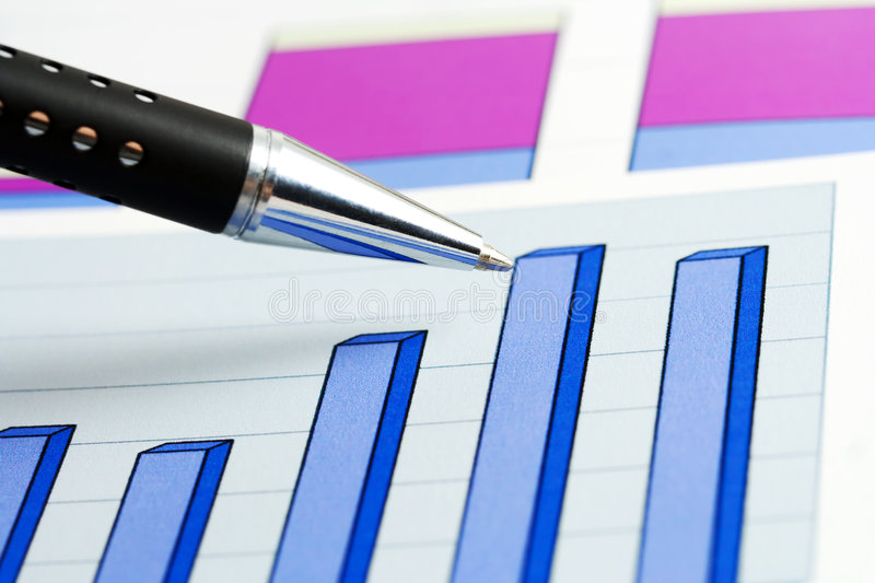 Stock index. royalty free stock image