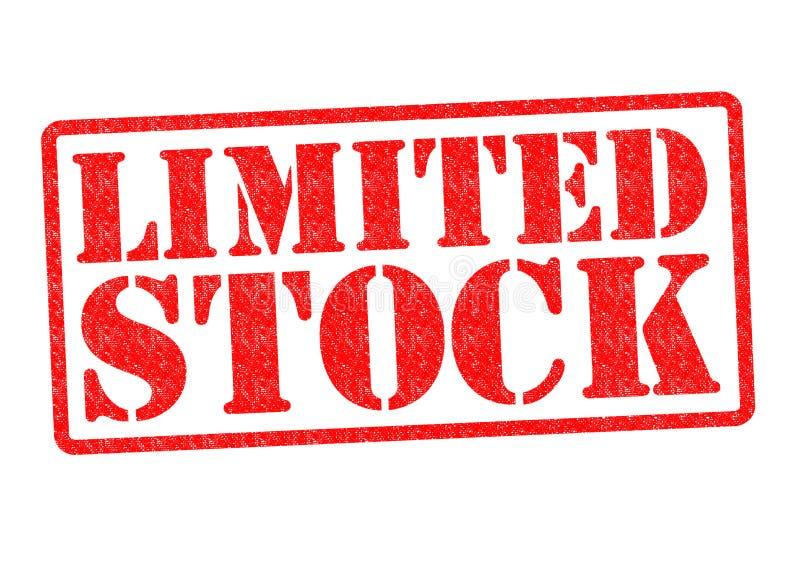 STOCK LIMITÉ illustration de vecteur