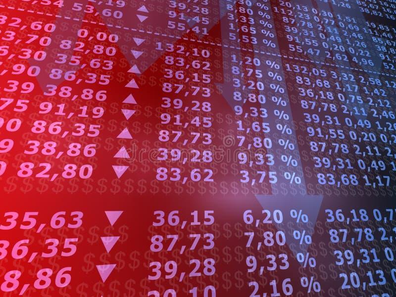 Stock market stock illustration