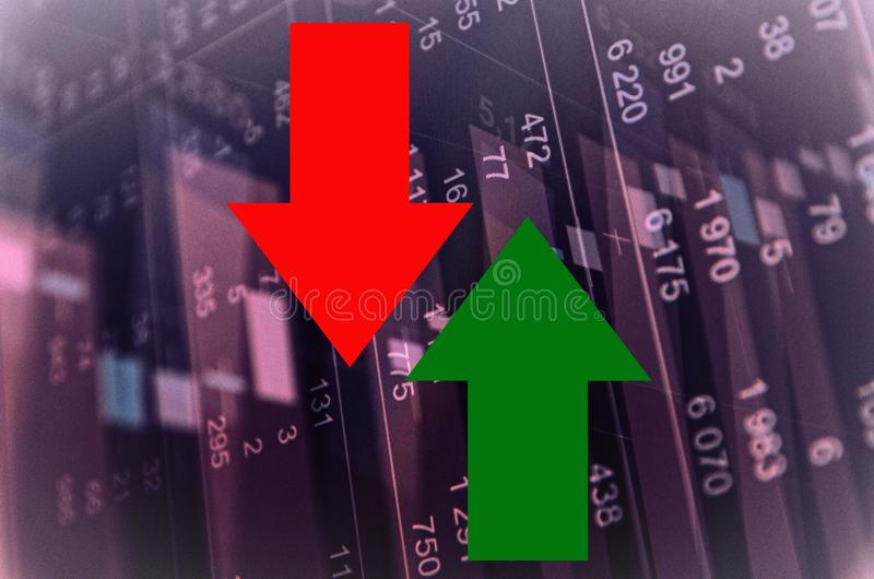 Stock market activity royalty free stock images
