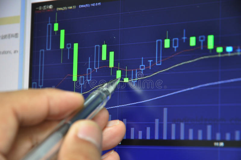 Download Stock market analysis stock image. Image of next, development - 24832207