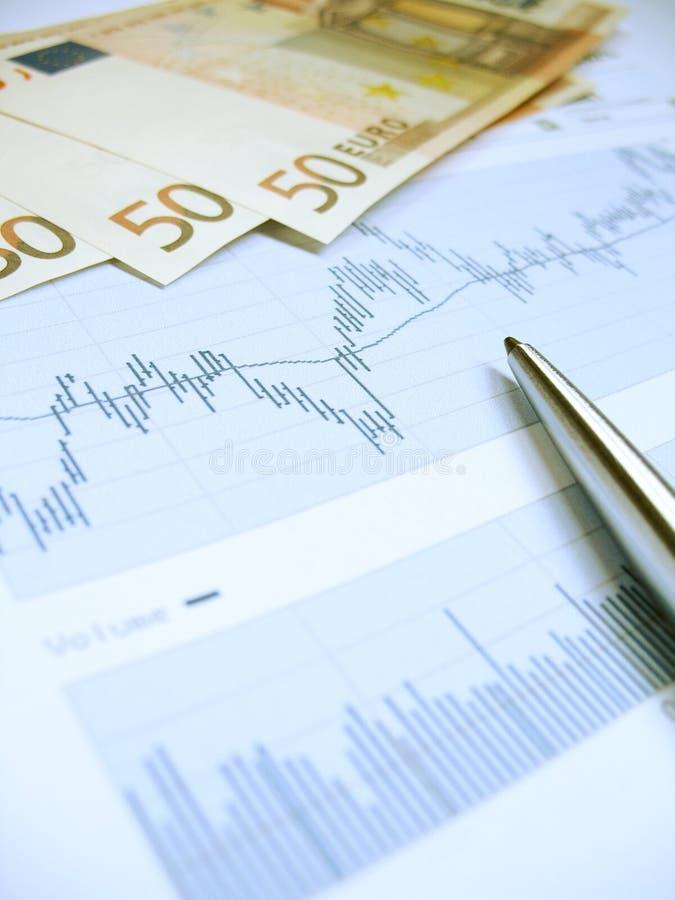 Stock market analysis royalty free stock photos
