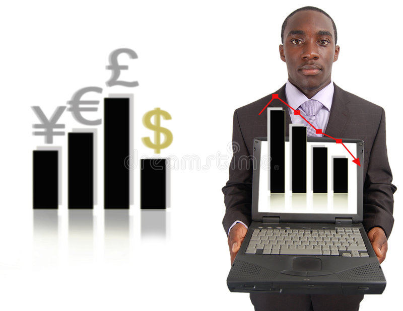 Stock Market Change royalty free stock images