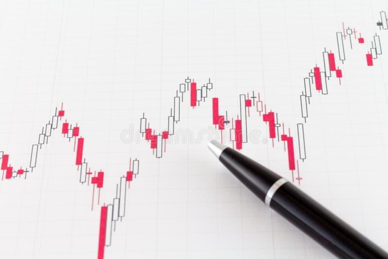 Stock Market Chart Financial Market stock photo
