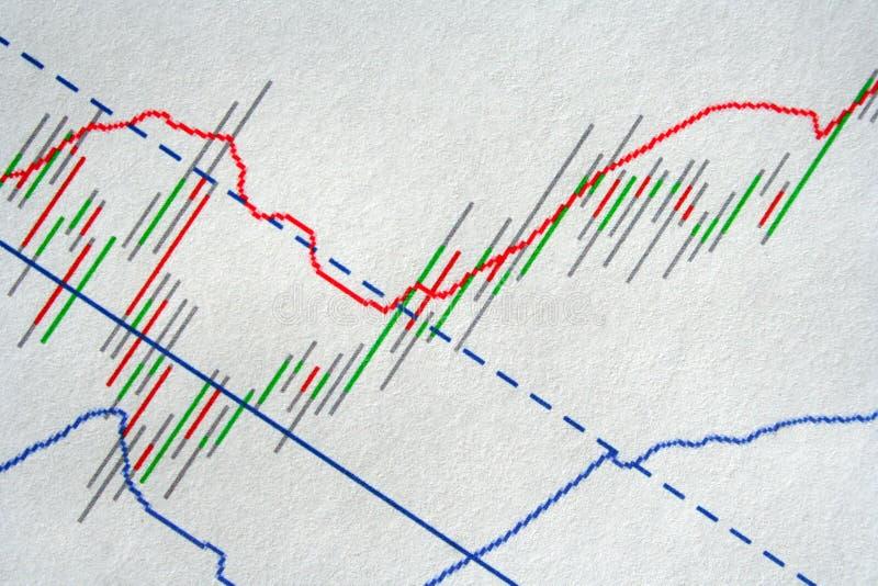 Stock market data. Stock market financial graph data royalty free stock images