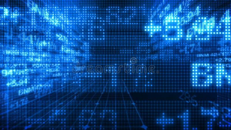 Stock Market Data Tickers 3d World Stock Video Video Of Advisor