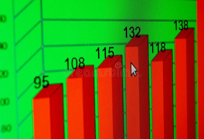 Download Stock market graphs stock photo. Image of analyzing, funds - 26168678
