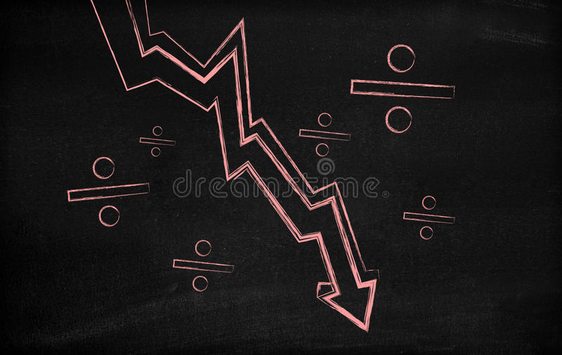 Download Stock Market Loss Royalty Free Stock Image - Image: 21856336