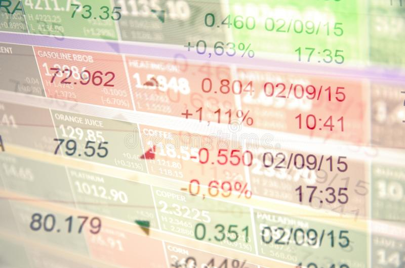 Stock market trading royalty free stock images