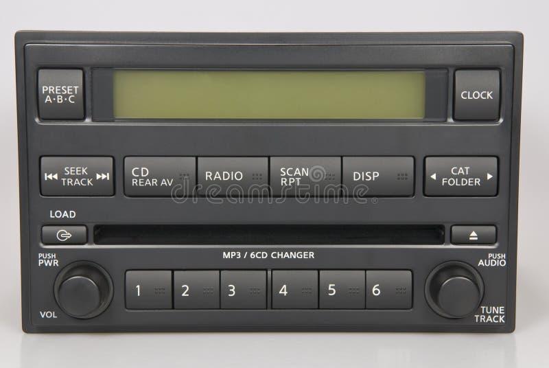 Stock Nissan Bose Radio royalty free stock photography