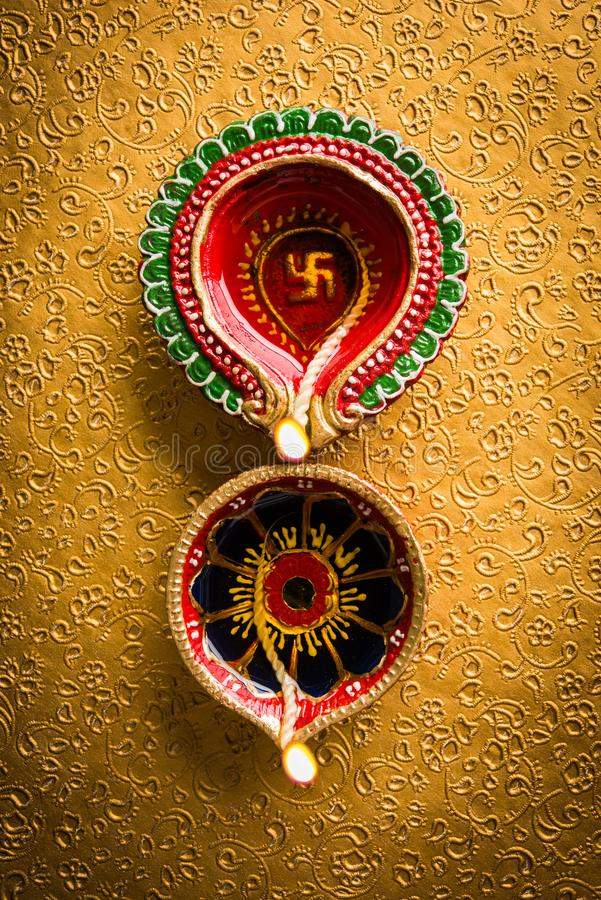 Stock photo of beautiful diwali diya royalty free stock photos