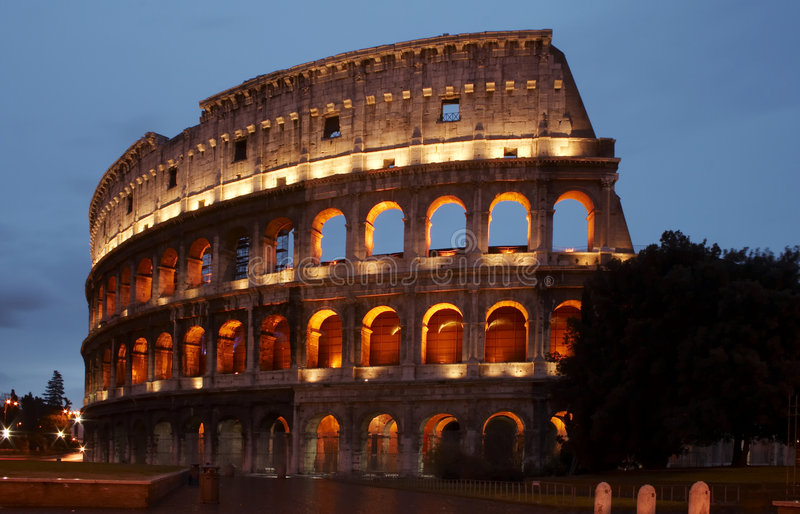 Stock Photo the Colosseum royalty free stock image