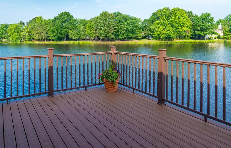 Stock photo of deck royalty free stock images