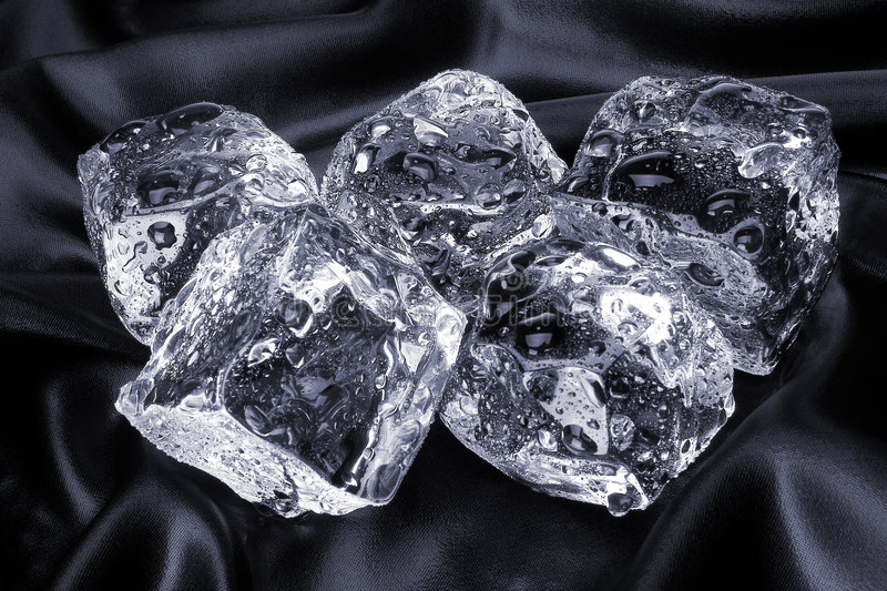 Stock Photo of Ice Cubes stock images