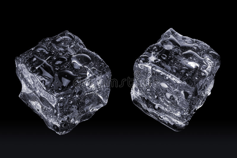 Stock Photo of Ice Cubes royalty free stock photo