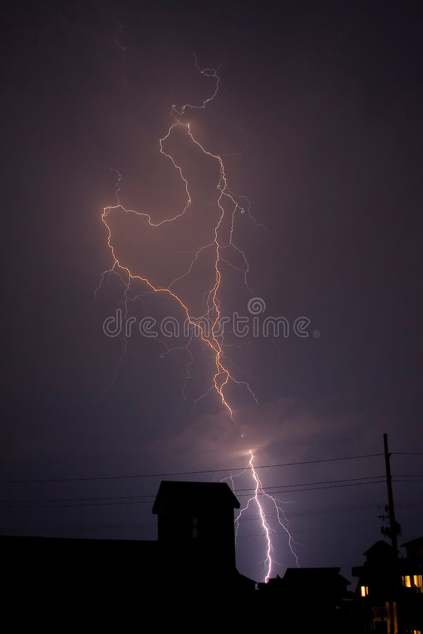 Download Stock Photo of Lightning stock photo. Image of magenta - 1641378