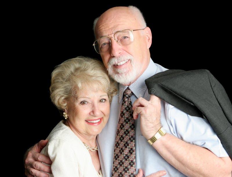 Stock Photo of Loving Senior Couple stock photo
