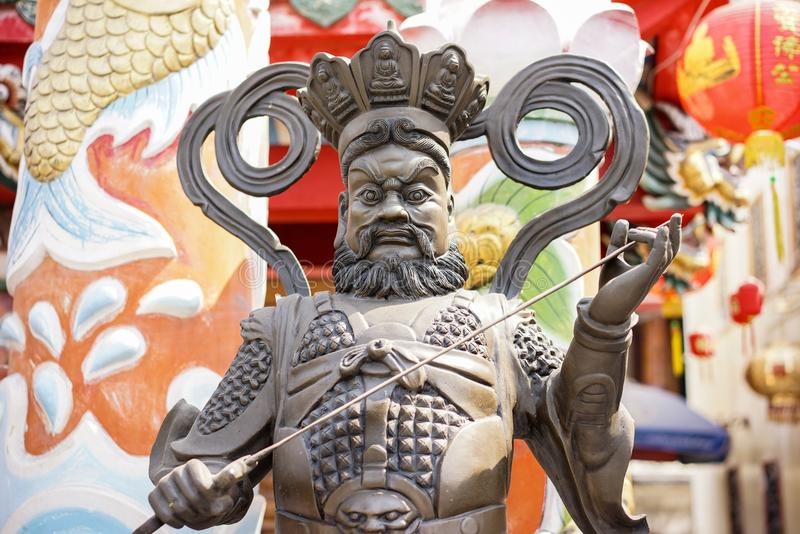 Stock Photo - Statue in Tample. Detail stock photography