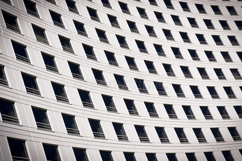 Download Windows On A Curved Building Royalty Free Stock Photos - Image: 29818548