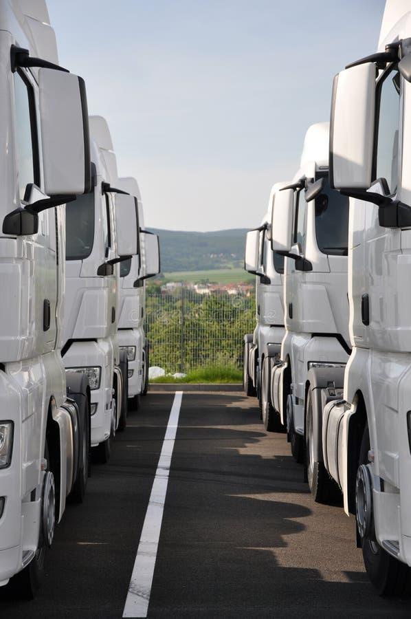 Download Semitrailer truck stock stock image. Image of towing - 14972719