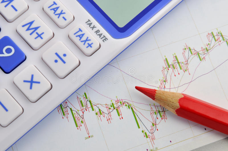 Download Stock and tax calculation stock image. Image of trend - 22434773
