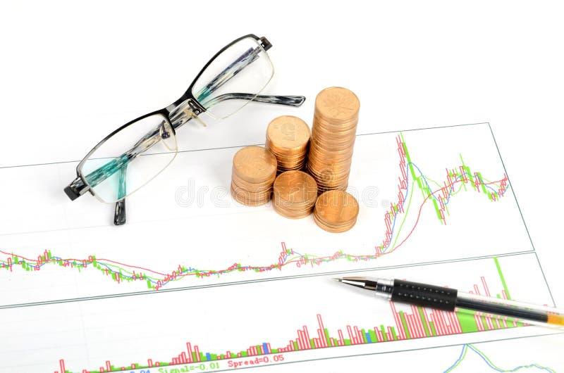 Stock Trading Royalty Free Stock Photos