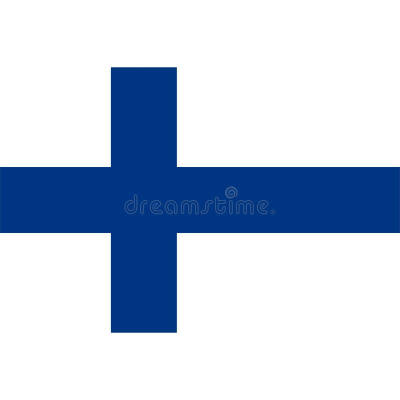Stock vector finland flag icon 1 vector illustration