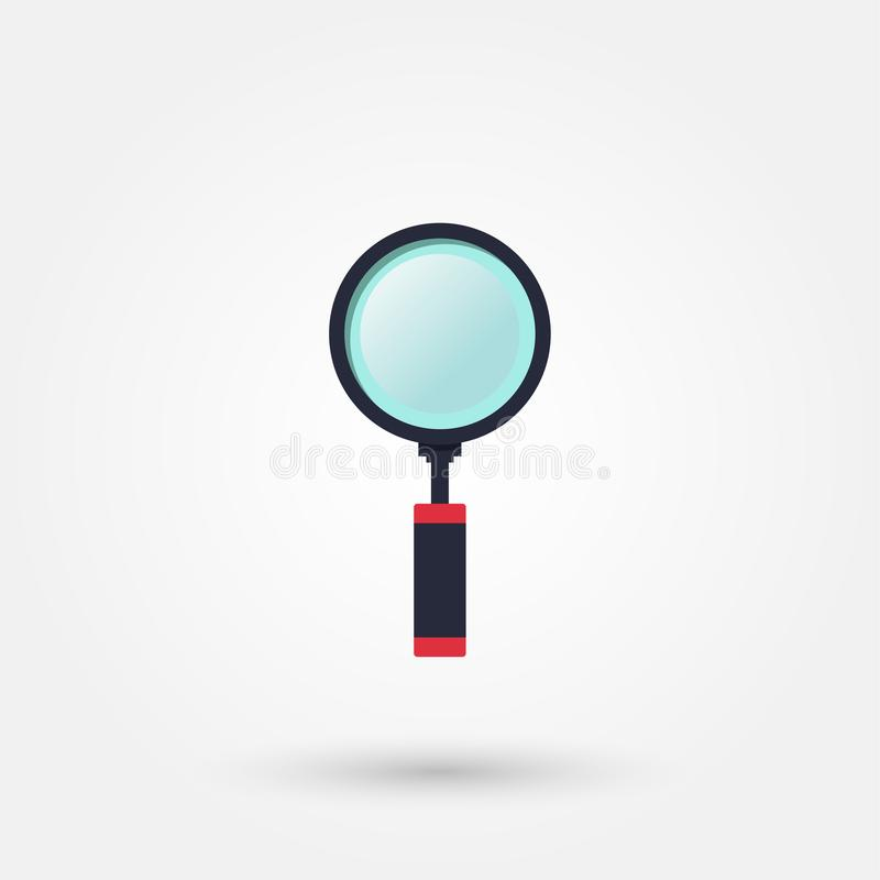 Stock vector magnifier royalty free illustration