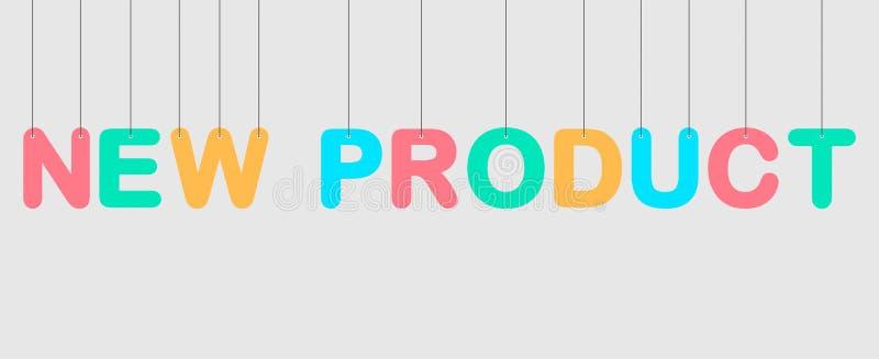Stock vector new product hanging illustration 2 stock illustration