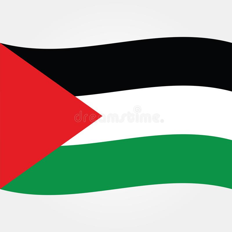 Stock vector palestine gaza flag icon 2 stock illustration