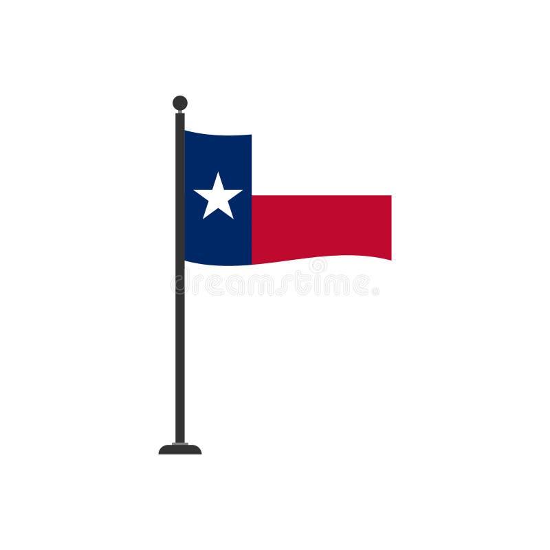 Stock vector texas flag icon 4 stock illustration