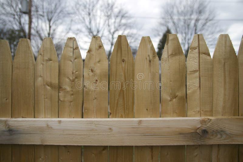 Stockade Fence Panel royalty free stock photos