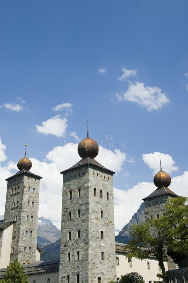 Download Stockalper Palace stock image. Image of brig, alps, switzerland - 7636017