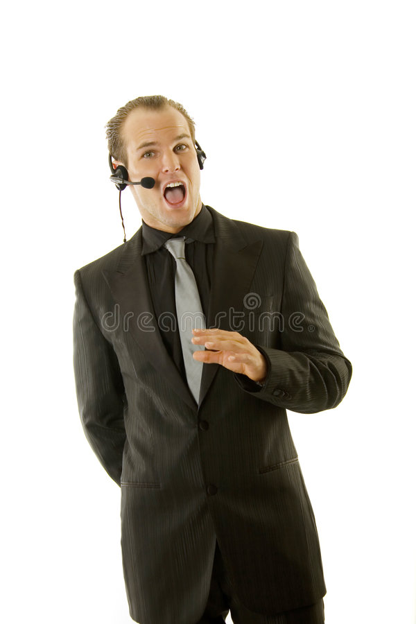 Download Stockbroker Or Customer Service Rep Stock Image - Image of energy, corporate: 7680473
