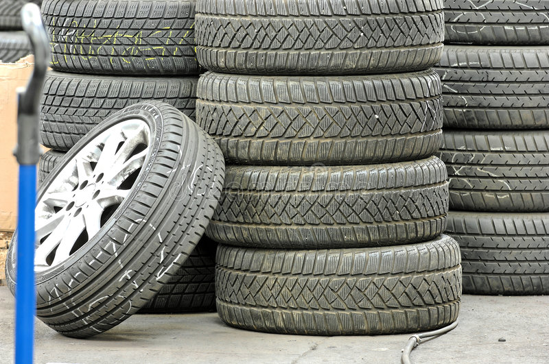 Download Stocked tires stock photo. Image of background, alloy - 2220292