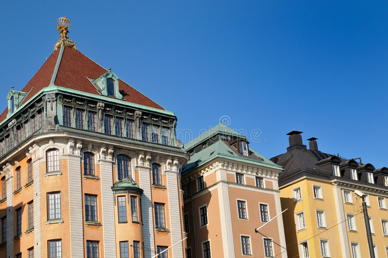 Download Stockhlom street stock photo. Image of blue, gamla, sweden - 7000192