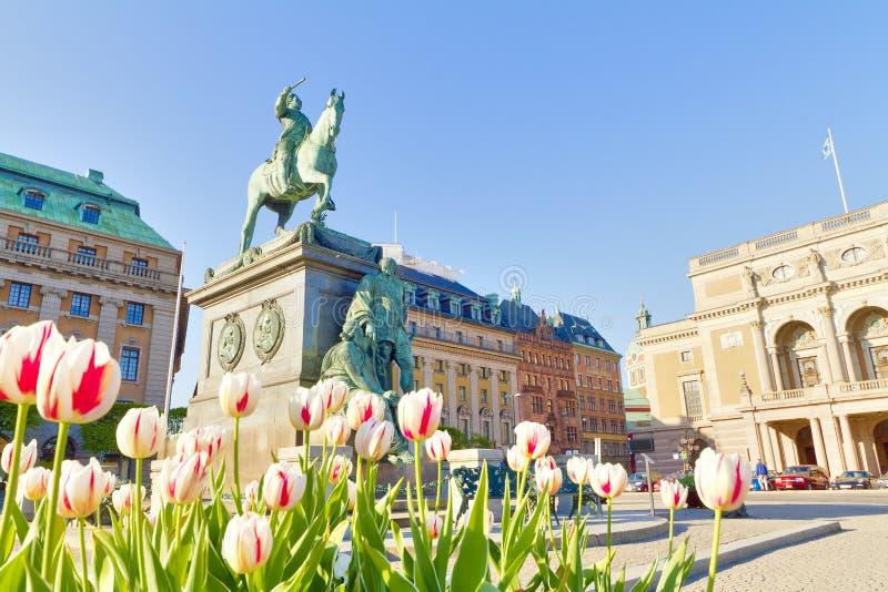 stockholm Швеция стоковое фото rf