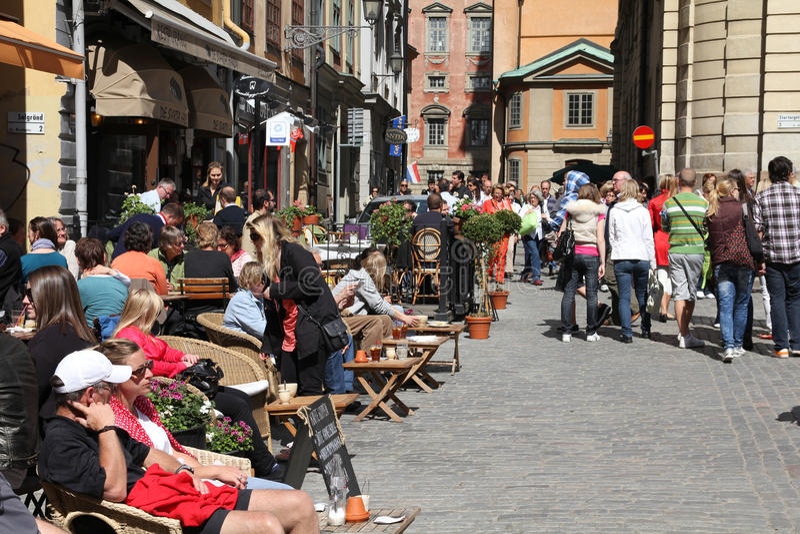 stockholm стоковое фото