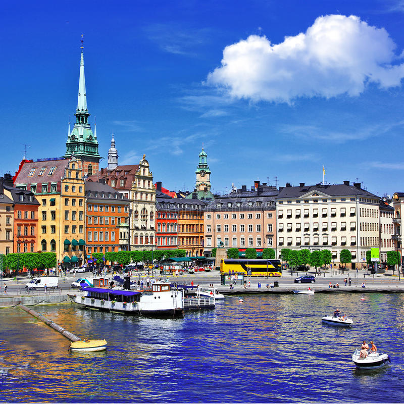 Free Stockholm Royalty Free Stock Photography - 31603517