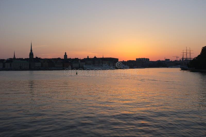 Stockholm royalty-vrije stock foto