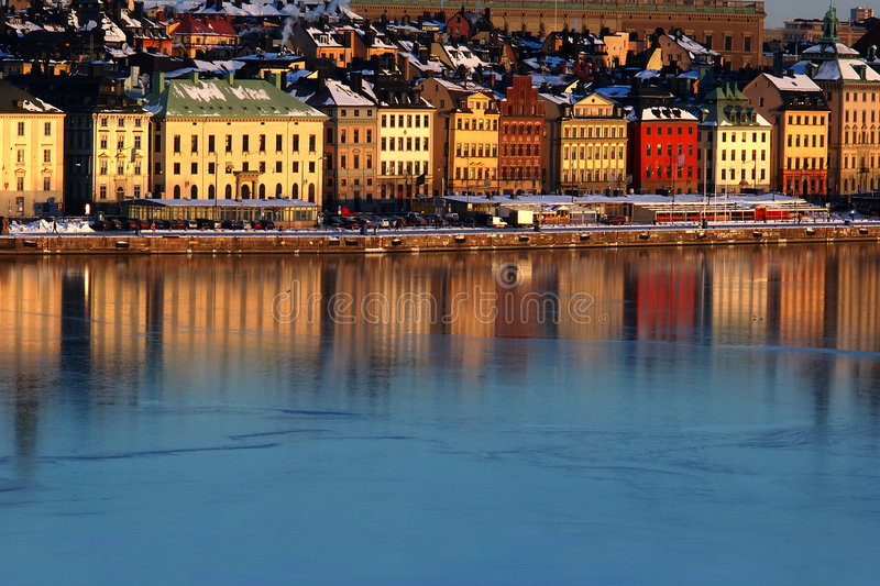 Download Stockholm stock photo. Image of buildings, lights, lodging - 505534