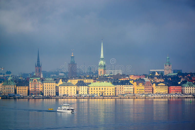 stockholm obrazy royalty free