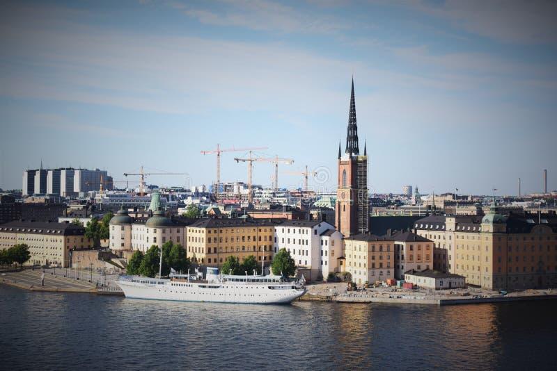 Stockholm stock afbeelding
