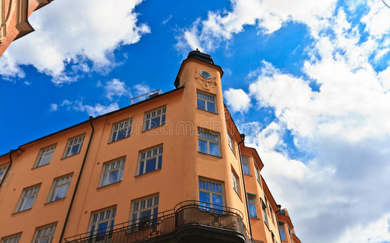 Stockholm architecture royalty free stock photography