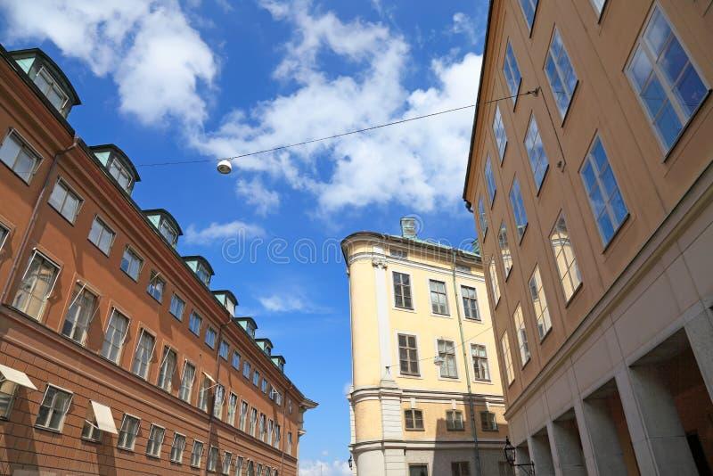 Stockholm-Architekturansicht. stockfotos