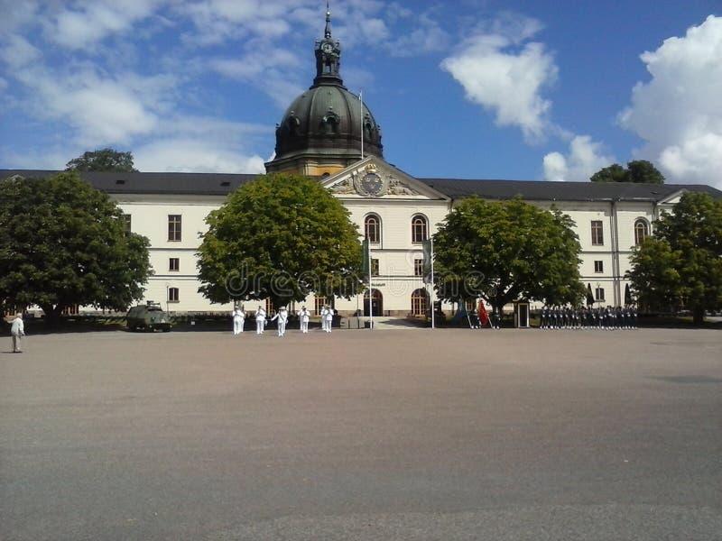 Stockholm-armemuseum stockfotos