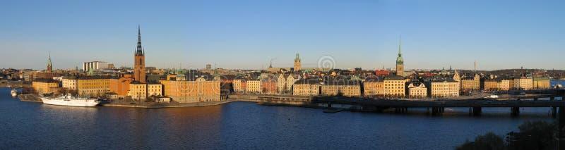 Stockholm. Big panorama. royalty free stock photos