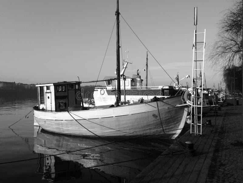 Stockholm boat stock photos