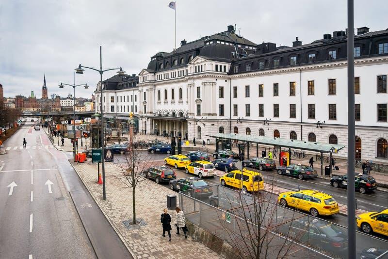 Stockholm centralstation arkivbilder