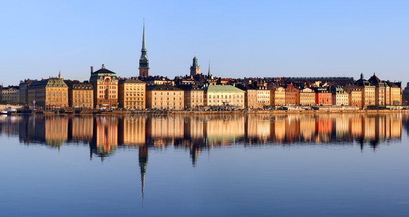 Stockholm city royalty free stock images